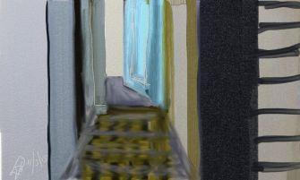 open-deur-digital-painting
