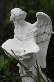 engel met hoofd